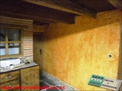Muros a la antigua disimula las imperfeccionesdel soporte, permite la obtenci�n de gustosos efectos