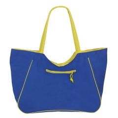 Bolsas de playa. bolsa playa summer flores cremallera azul claro en la llimona home (1)