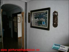 Alta decoracion indico color artico. obtencion de efectos texturados en interiores, mediante la com