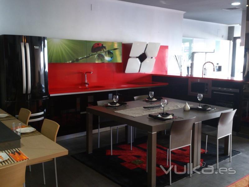 Foto modelo estatificado de alta calidad en cocinas lider for Muebles de cocina lider