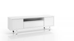 Mueble blanco para poner la tele