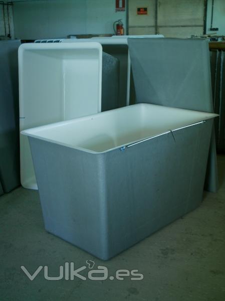 Ver tema dudas con un estanque - Depositos de agua rectangulares ...