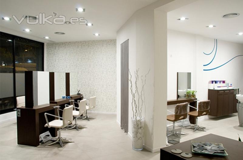Foto dise o interior peluquer a aktual estilistes - Interiores de peluquerias ...