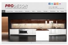 Diseño web prodecor