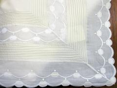 Detalles�bana encimera + funda de almohada con puntilla y entred�s de algod�n 100% de la marca tolra