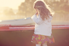 Fotógrafa de niños.
