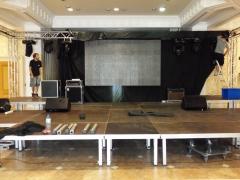 Montaje escenarios, sonido, iluminación y pantalla led