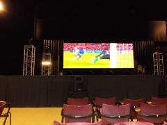 Futbol - pantalla led -abril 2012