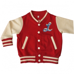Chaqueta rockera beb� ni�o ni�a en color rojo de la marca be lucky kids
