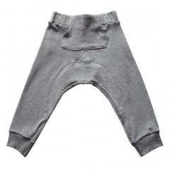 Pantal�n largo en color gris para beb� ni�o ni�a de la marca beau loves
