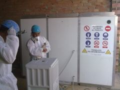 Cabina de descontaminaci�n