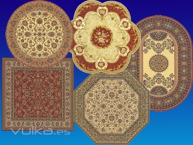 Foto diferentes formatos de alfombra for Alfombras diferentes