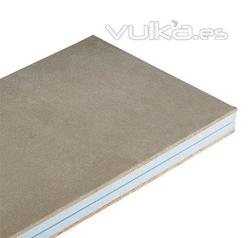 Foto panel thermochip tch formado por un tablero - Panel madera cemento ...