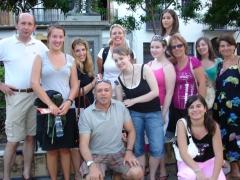 Estudiantes de nuestra escuela de idiomas de sevilla en actividad cultural