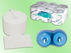 Dispensador doble y papel smartone