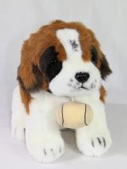 Peluches perros de calidad. peluche perro san bernardo sentado oasisdecor.com