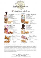 Especialidades sin gluten - sin trigo. especial cel�acos