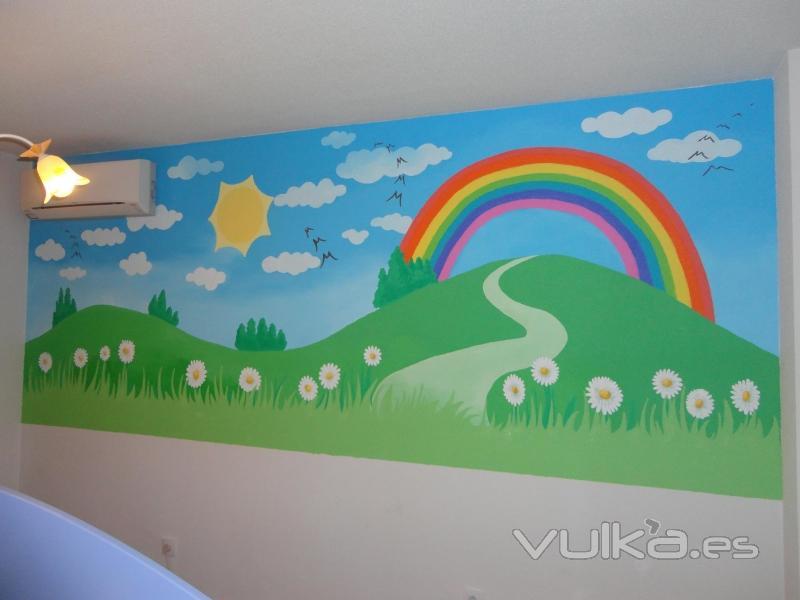 Foto murales infantiles - Dibujos paredes infantiles ...