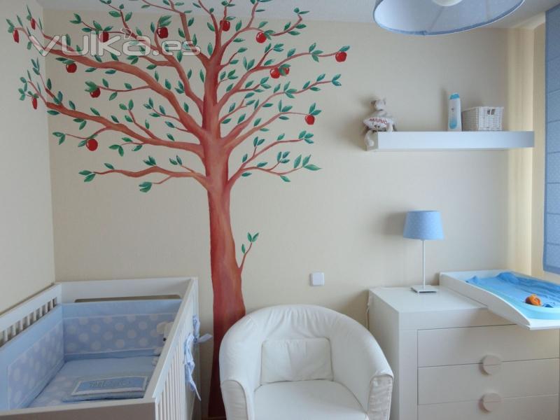 Foto murales para bebes - Murales en habitaciones ...