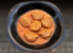Plato elaborado en conserva (alb�ndigas en salsa americana)