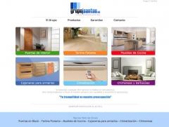 Puertas en block, tarimas flotantes, cajoneras para armarios, aire acondicionado, muebles de cocina