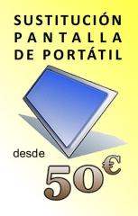 Sustitución de pantallas de ordenadores portátiles en valencia