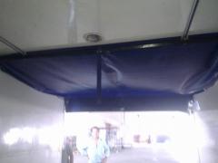 Separador abatible carga camion frio