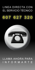 Servicio de asistencia técnica: 607627320