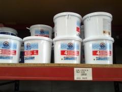 Productos para piscinas. cloro 4 efectos 5 k.