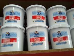Productos para piscinas. cloro r�pido.