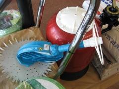 Productos para piscinas. limpiafondos barracuda y depuradora.