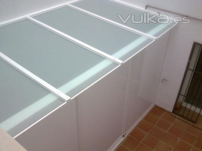 Foto techo y cubiertas toldos miguel - Estructuras de aluminio para terrazas ...
