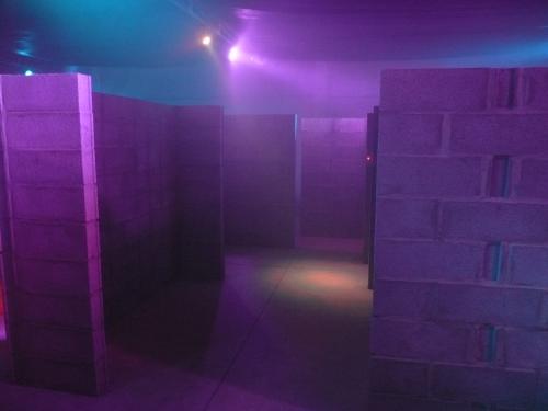 laberinto de Area Laser