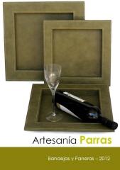 Cat�logo 2012 - bandejas y paneras