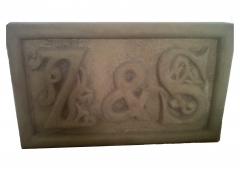 Letrero tallado a mano en piedra natural (regalo de boda)