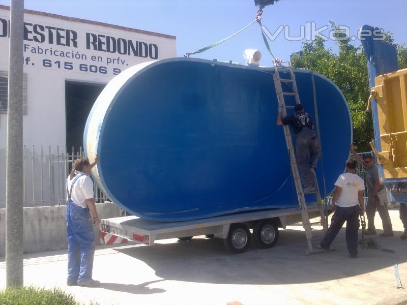 Foto fabricacion de piscinas en prfv a medida for Fabricacion de piscinas