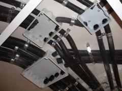 Canalizaciones sobre techo