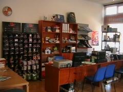 Vista interior de la tienda