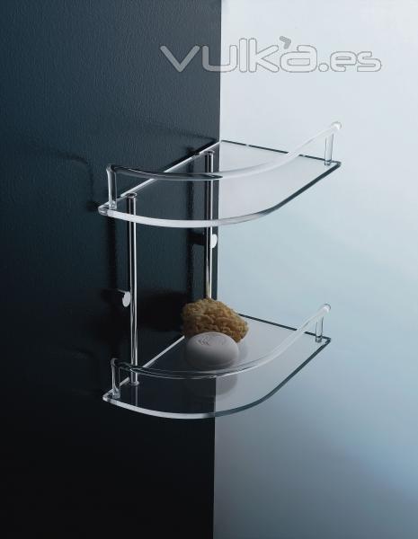 Muebles De Baño Karol:Especiales estantes para la ducha de alta calidad y resistentes al
