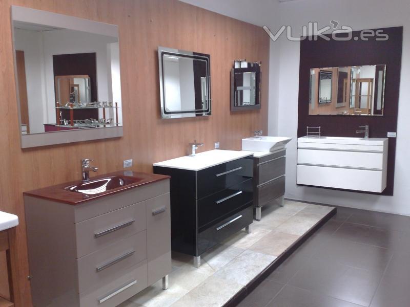 Foto exposici n azulejos monz secci n muebles de ba o - Exposicion banos ...