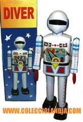 Colecciolandia.com ( robot de hojalata ) jugueter�a madrid robots de hojalata