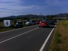 Rallye playa de aro 2012 .  parking n� 3 auto taller emili bosch