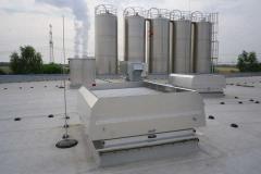 Aire acondicionado central, aire por conductos, aire industrial