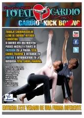 Designdcl: total cardio training. cartel de verano. propuesta 3