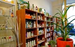 Plantas en el herbolario biomarket norte