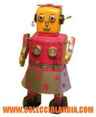 Colecciolandia.com ( robot de hojalata ).tienda de juguetes de hojalata en madrid