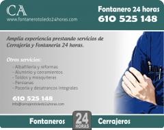 Fontanero Toledo 24 horas