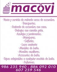 Para que se hagan una idea de todo lo que vendemos mucho m�s.comprar en www.macovi.es