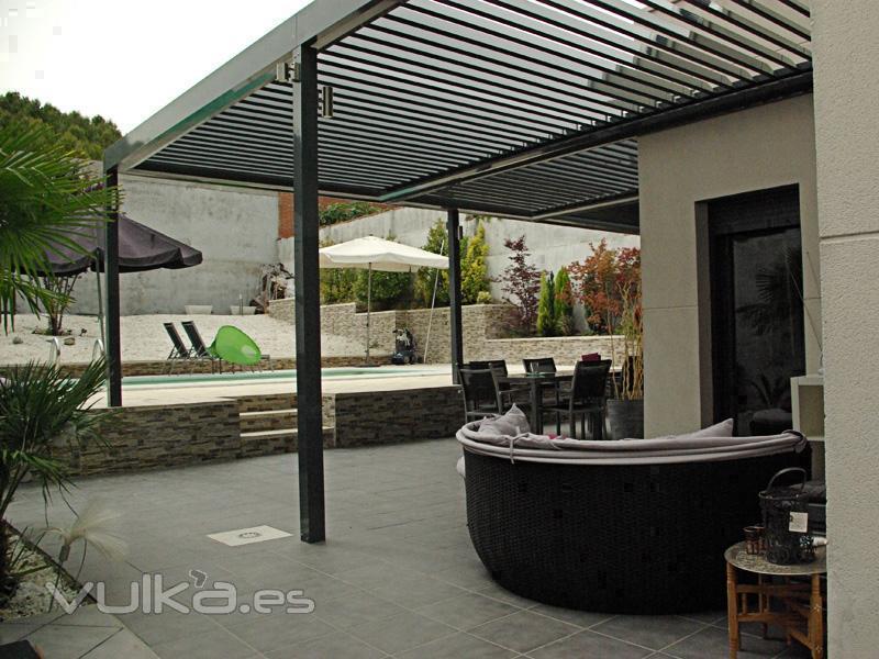 Osibe proyectos s l - Pergola terraza atico ...