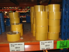 Rollos cinta adhesiva.